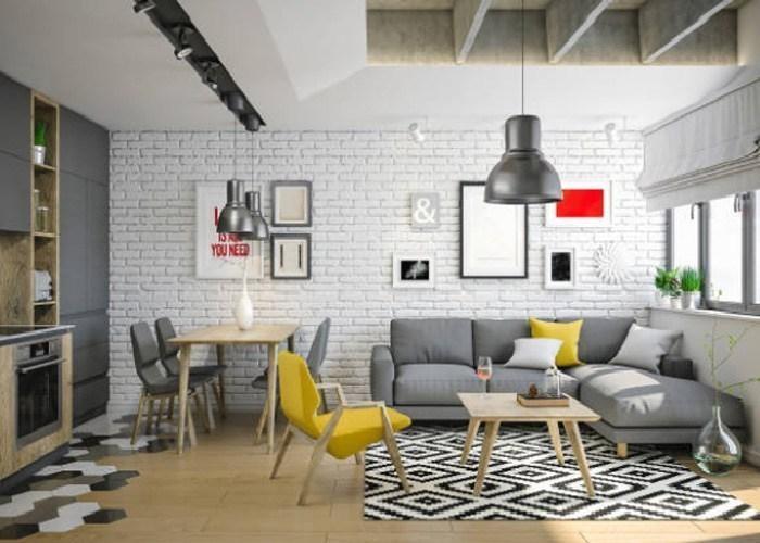 Cách tiết kiệm không gian phòng khách