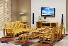 Chọn sofa gỗ sồi