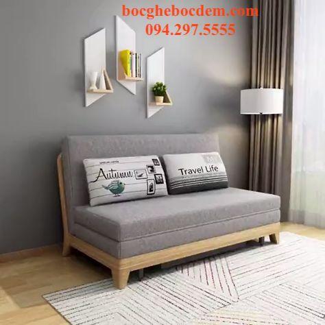 Chuyên nhận may vỏ đệm ghế sofa gỗ