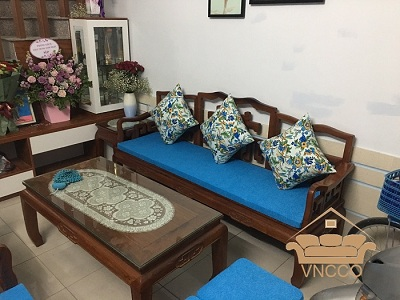 Dịch vụ làm đệm ghế gỗ tại Hà Nội của VNCCO