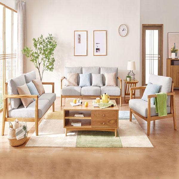 Dịch vụ làm đệm ghế sofa gỗ giá cạnh tranh tại Hà Nội