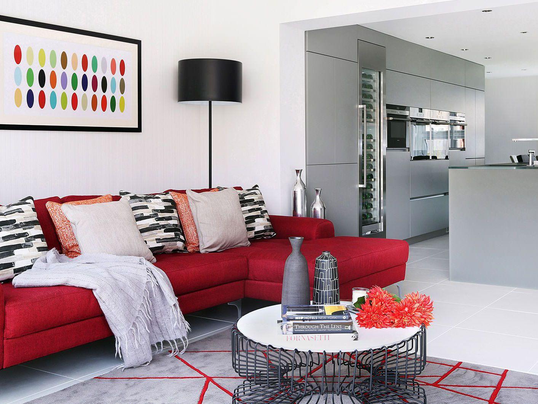 Gam màu ấm áp trong thiết kế nội thất nhà cửa