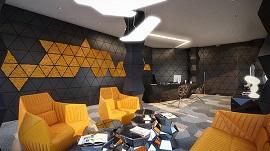 Ghế sofa hình học tinh xảo - lựa chọn thông minh cho không gian hiện đại