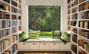 Góc đọc sách cho ngôi nhà hiện đại