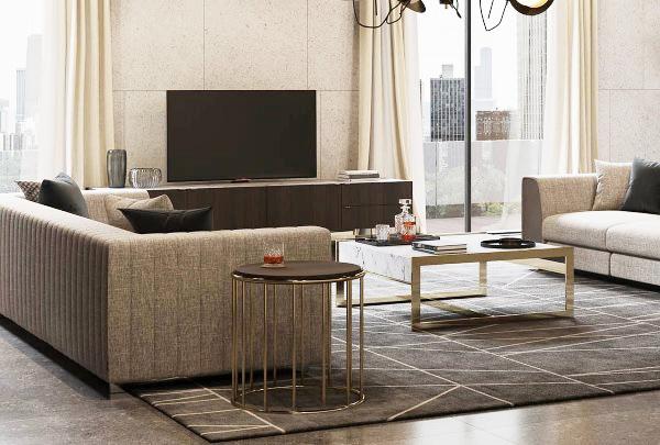 Kết hợp bày trí đồ nội thất cho không gian hạn chế