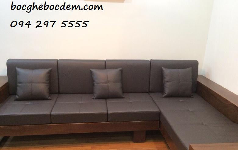 Làm đệm ghế sofa salon tại nhà quận Hoàng Mai