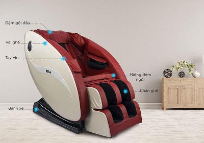 Lợi ích tuyệt vời của ghế massage đối với sức khỏe gia đình bạn