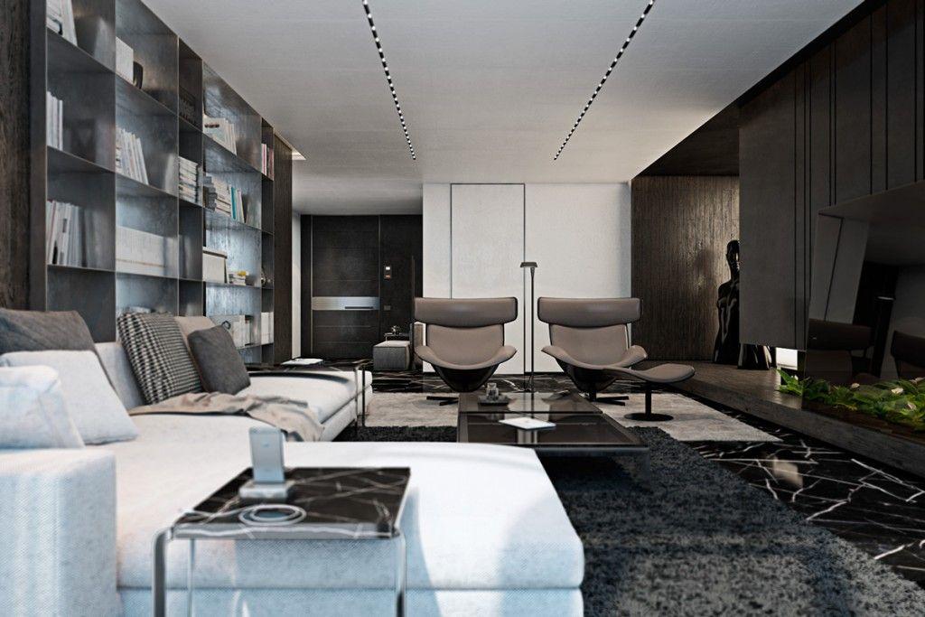 Lý do nội thất tông màu đen luôn được khách hàng ưu tiên lựa chọn