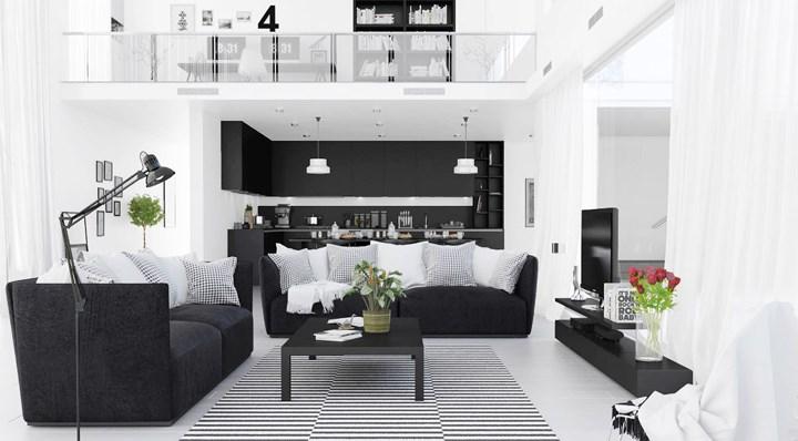 Lý do vì sao nội thất màu đen luôn được ưa chuộng trên thị trường