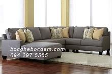 Mẫu Ghế Sofa Nỉ Đa Năng Thích Hợp Cho Các Gia Đình Đông Người - N22
