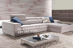 Mẫu ghế sofa nỉ