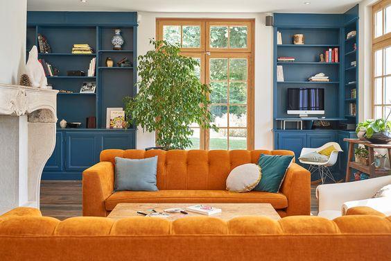 màu sắc và cách lựa chọn cho làm đệm ghế sofa