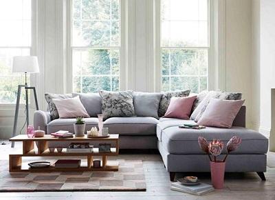 Màu sắc vải bọc sofa thích hợp cho phòng khách nhà bạn