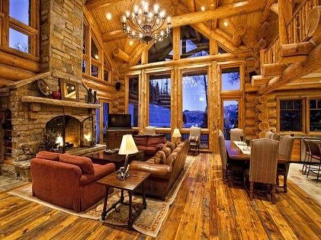 Mẫu sofa dành riêng cho gian nhà có decor gỗ