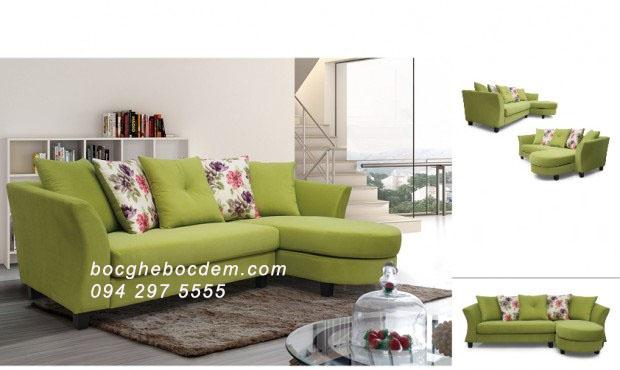 Mẫu sofa nỉ đẹp M112