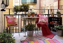 Mẫu thiết kế ban công đẹp giúp ngôi nhà thêm lung linh
