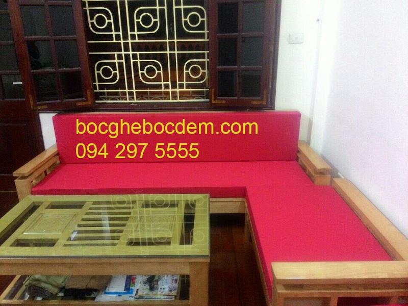 May Đệm Ghế Và Bọc Đệm Ghế Sofa Nỉ Tại Nhà Cô Nga Ở Hoàng Quốc Việt, Cầu Giấy