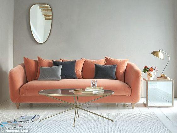May vỏ bọc ghế sofa đẹp giá rẻ màu đào
