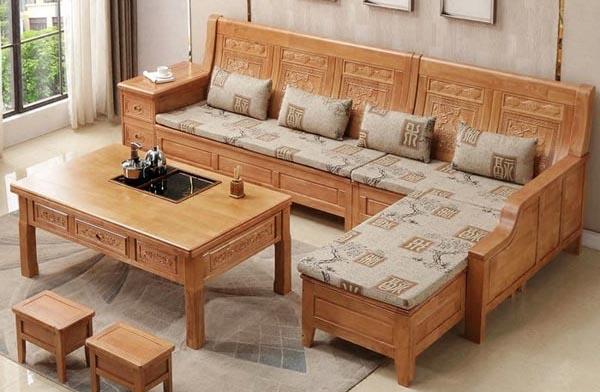 Mẹo chọn đệm ghế gỗ dành cho phòng khách nhà bạn