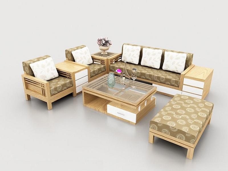 Nên chọn sofa gỗ hay sofa đệm