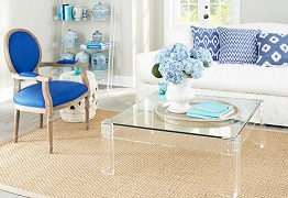 Nhà diện tích nhỏ thiết kế đẹp và rộng hơn với đồ nội thất trong suốt