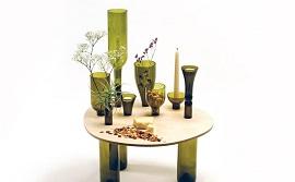 Những mẫu bàn ghế độc lạ làm từ vật liệu bạn không thể ngờ tới
