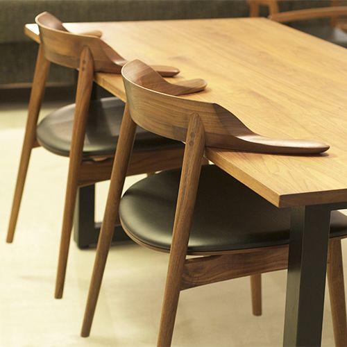 Những đệm ghế ăn kết hợp với không gian nội thất