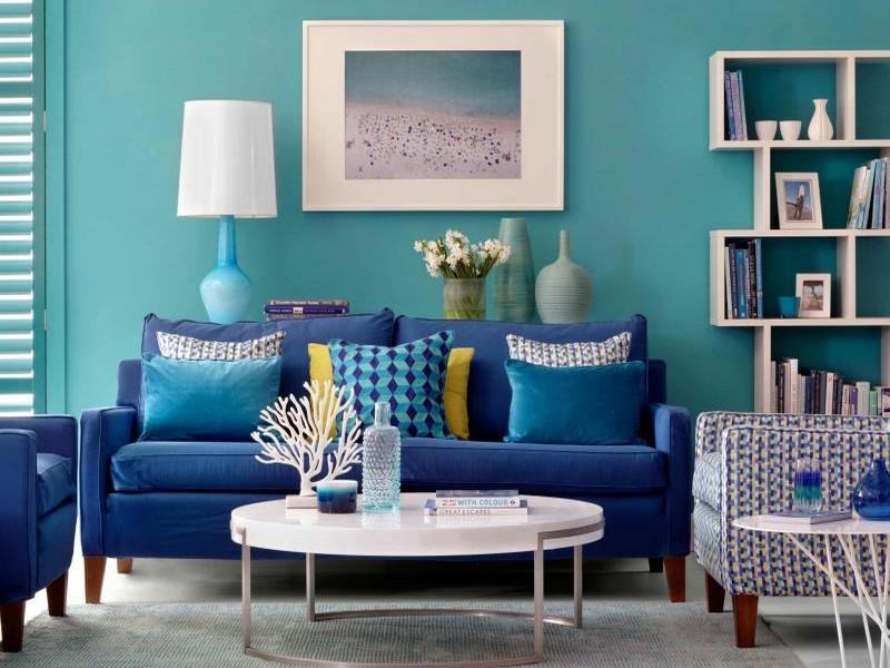 Những gợi ý cho việc chọn chiếc ghế sofa cho phòng khách theo phong cách đại dương