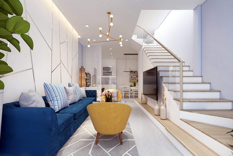 Những kiểu bố trí ghế sofa cho phòng khách hiện đại