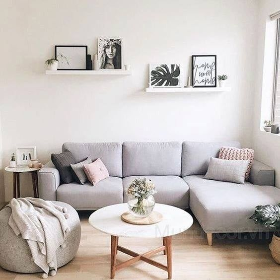 Những màu bọc ghế sofa phù hợp phòng khách của bạn