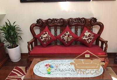 Những mẫu đệm ghế sofa gỗ mới nhất tại VNCCO