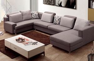 Những mẫu sofa chữ U dành cho phòng khách rộng