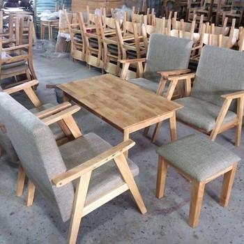 Những mẫu sofa gỗ gian bếp đáng chú ý và chất liệu vải bọc đệm gỗ yêu thích của mọi gia đình