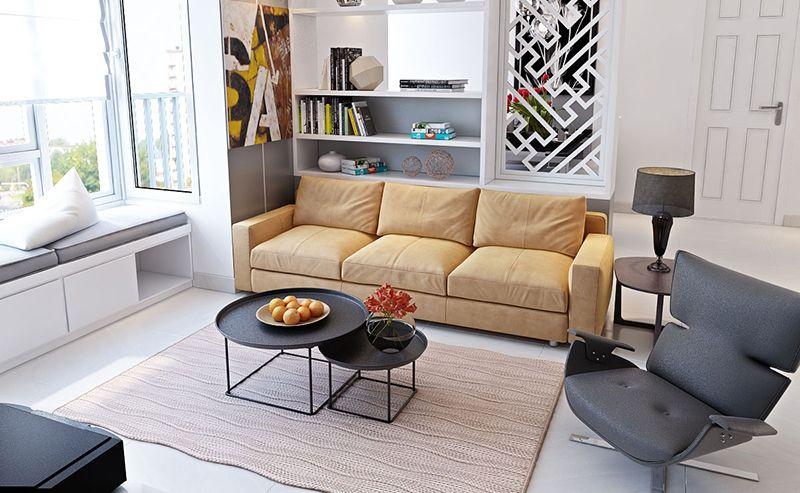 Những mẫu sofa sang trọng tăng thêm sự ấm cúng trong gia đình