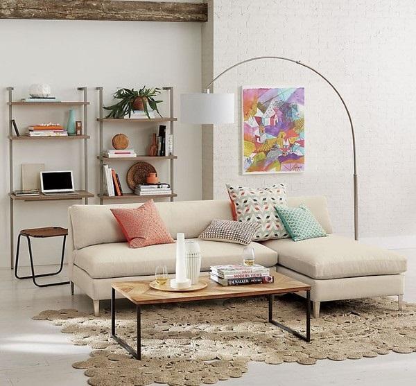 Những phong cách chất ngất dành cho phòng khách có diện tích hạn hẹp
