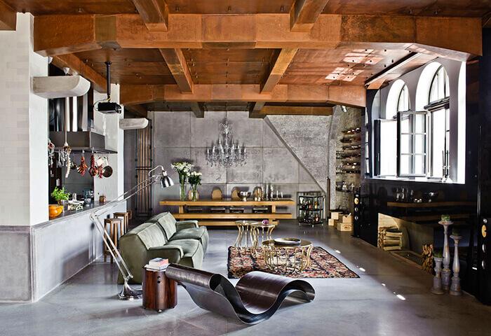 Phong cách nội thất Loft – không gian mở