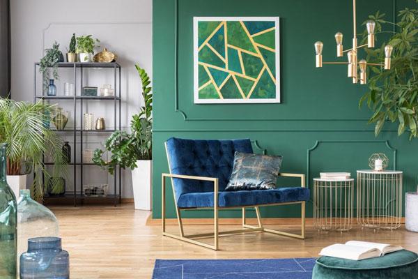 Phong cách Tropical cùng những màu sắc bọc ghế