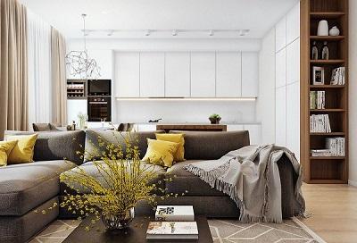 Phong thủy đặt bộ sofa phòng khách là yếu tố quan trọng
