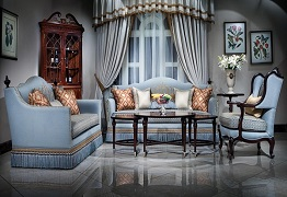 Sofa cổ điển-Những mẫu sofa cổ điển cho nội thất phòng khách thêm sang trọng