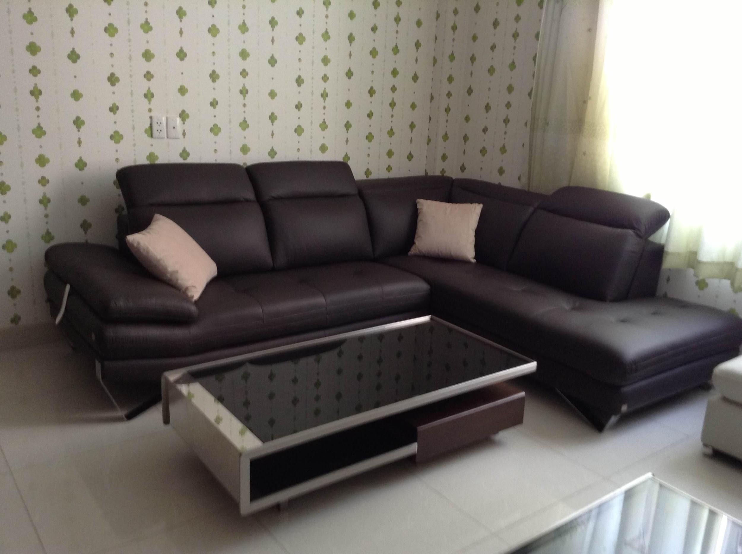 Sofa da giải pháp cho mùa nóng oi bức