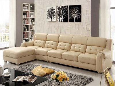 Sofa da thật áp đảo mọi loại chất liệu