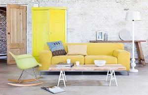 Sofa gam màu ấm-Cảm giác mới cho gia chủ