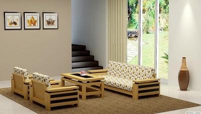 Sofa gỗ và những trải nghiệm tuyệt vời