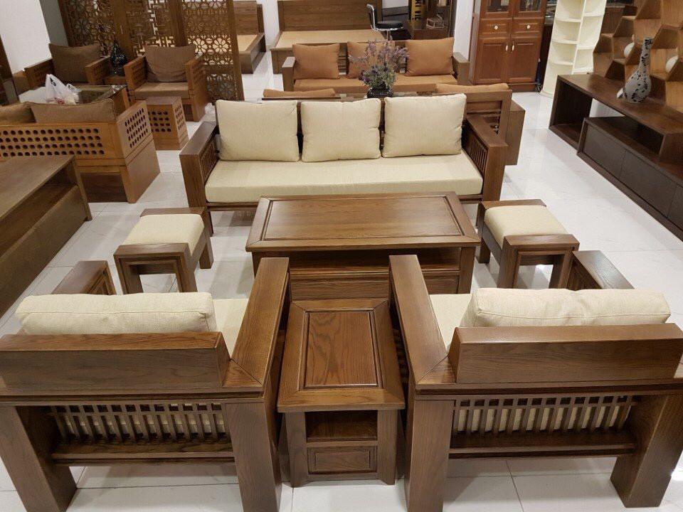 Sofa gỗ xu hướng được nhiều người ưa chuộng