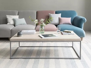 Sofa kết hợp với bàn trà-Không gian hoàn hảo cho cả gia đình