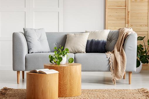Sự hấp dẫn của bộ ghế sofa gỗ mang đến