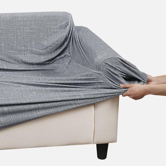 Sự kết hợp sofa xám trong thiết kế