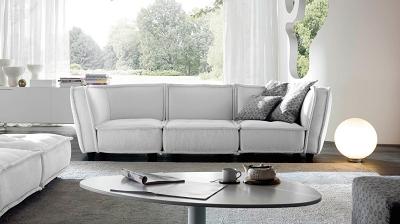 Tân trang phòng khách chào hè với sofa nỉ cao cấp