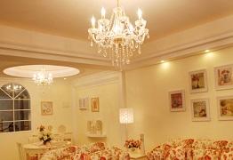 Thiết kế chiếu sáng phòng khách đẹp lung linh với các mẫu đèn đẹp