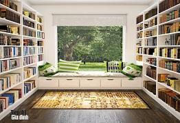 Thiết kế góc đọc sách đẹp cho những tín đồ đam mê đọc